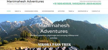 Manimahesh Adventures